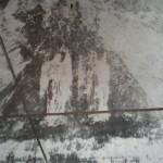Фрески купола до восстановления