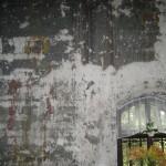 Фрески левой стены до восстановления